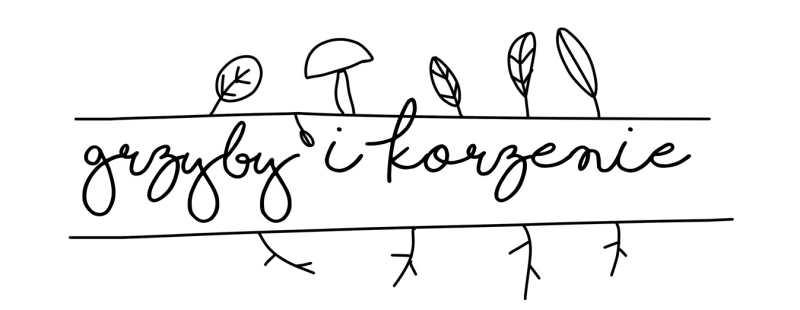 Logo grzyby i korzenie